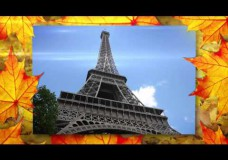 Слайдшоу «Осенние листья» бесплатная версия