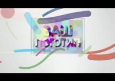 Анимированный логотип 09 «Цветные частицы»